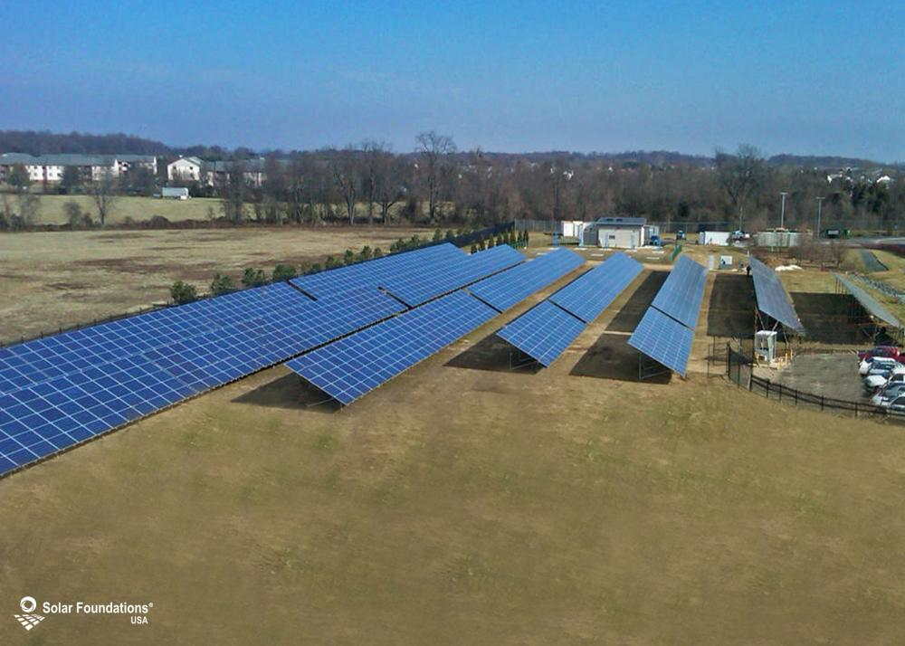 493.50 kW Ground Mount System in Bear, DE. This featured system is built for (30) 5 panels high in landscape by 14 panel columns wide.